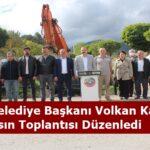 Tosya Belediye Başkanı Volkan Kavaklıgil, Basın Toplantısı Düzenledi