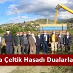 Tosya'da Çeltik Hasadı Dualarla Başladı